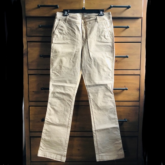 dca775113 Old Navy Pants | Midrise Bootcut Khakis Rolled Oats | Poshmark